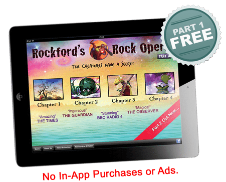 Rockford Rock Opera story book Apps